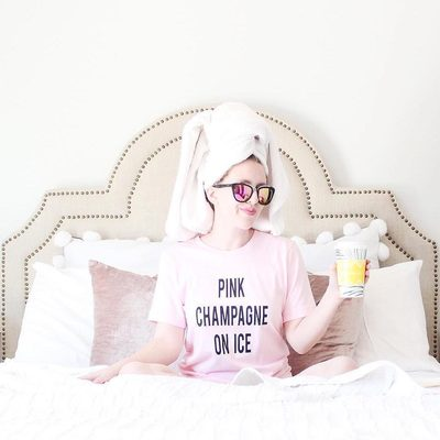 We woke up like this. You sure know how to lounge in bed in style, @haleyacres. It's Fan Post Friday! Check our IG Stories for our favorite posts from this week! #WhitforCheeky