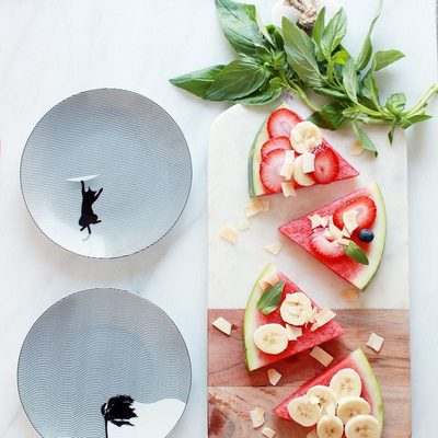 🍉 Serving up summertime with watermelon pizzas. #MakeMealtimeMatter