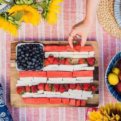 Berry patriotic 🇺🇸🍓🍉 | 📷: @psimadethis