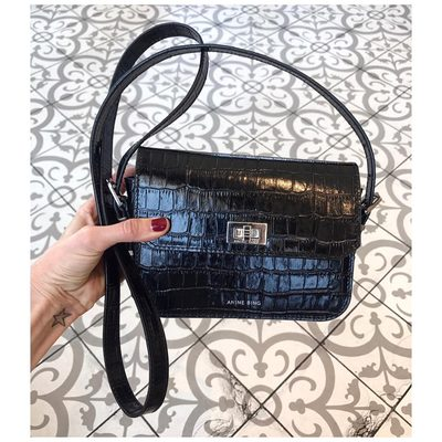 Going out for dinner.. Bringing my new fave- #aninebing Lou bag❥ www.aninebing.com