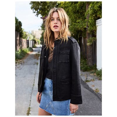 My go-to jacket for the last 5 years is now available in black ❥ #aninebingjacket #aninebing www.aninebing.com