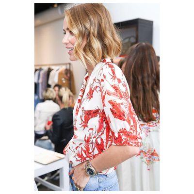 The wait is over. My favorite parrot safari blouse is FINALLY here❥ www.aninebing.com