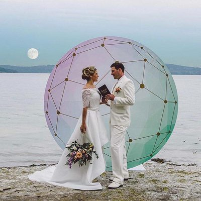 """I love you to the moon and back!"" Photo: @geo.photo . . . #brideandgroom #weddinginspiration #dreamwedding #marryme #ido #relationshipgoals #adventurebrides #destinationweddings #boho #chic #bridalideas #weddinggoals #weddingbells #weddingseason #instalove #StrictlyWeddings"