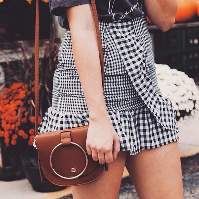 TBH this is the only bag we want for fall. Double-tap if you feel the same way. #mywhowhatwear | photo: @marah_ashley