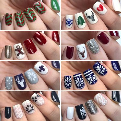 December is here! Time for some festive nails 🎄. All of these stencils are available at thebasecoat.com (link in bio) ❄️❄️ . . . #christmas #christmastree #christmasnails #winternas #festivenails #accentnail #nailedit #nailpolishaddict #nailpolish #nailart #thebasecoat #deernails #rudolph #fairisle #festivus #nails #nailstencils #ottawa #ottawablogger #nailvinyls