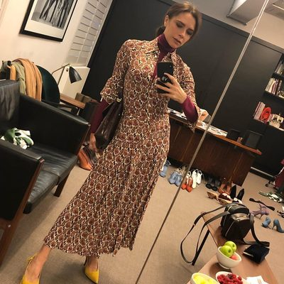 Travel day! Wearing my #VBPreAW18 collection - do I wear this shoe or a boot?? x VB