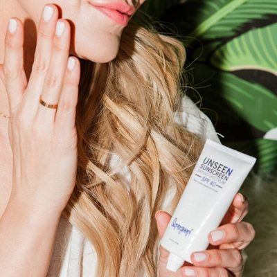 """@kerrently on Unseen 💫 """"It's an SPF! It's a makeup primer! It's everything a woman could ever want in one product! It's Supergoop's newest product launch, UNSEEN, & your morning routine isn't complete without it!"""""""
