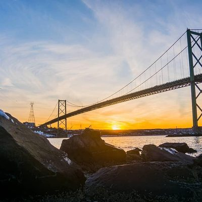Different angles, same great place 😍 #DiscoverHalifax . 📍  Below the McKay Bridge, Dartmouth 📷: @mr_jsmith86