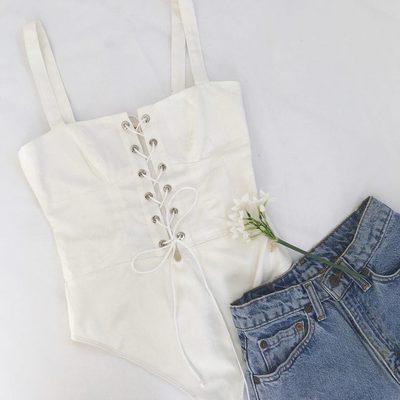 Fresh pick 🕊 The Poppy Corset Bodysuit #ForLoveandLemons