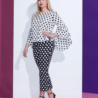 Happy #ELOQUIIGiveaway day! This week we're giving you the chance to win a style from our newest collection, Hello Dotty 🏁 Enter for a chance to win by following @eloquii, then liking and commenting on this post. Today's prompt: Polka dots or Stripes? ✨ One winner will be chosen at random, but you can shop new arrivals now via the link in our bio ⤴ #XOQ