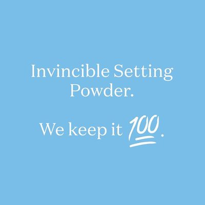100% mineral that is. #powderon #powderroomplease