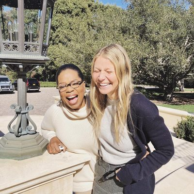 The Big O. The #goopPodcast is live and we're kicking off episode 1 with GP x @Oprah. Listen on goop.com/thepodcast