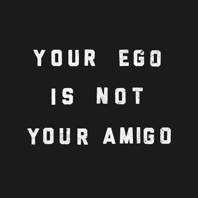 More soul. Less ego. 🙌 Head to the link in our bio to find your new mantra #feedyoursoul #raiseyourvibration #spiritualgangster