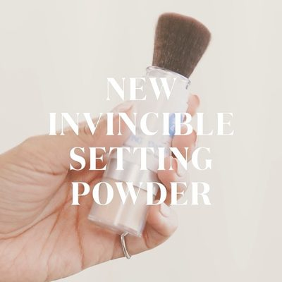 """""""I 💕 100% Mineral Invincible Sunscreen for a more polished, refined look."""" @cyndiramirez Now available @sephora #powderon #powderroomplease"""