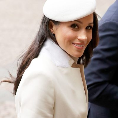 Alongside Kate, Harry, and William, Meghan Markle arrived at Westminster Abbey for her most important official event so far—her first official appearance with the Queen. Get more details on the royal occasion via @vfvanities (link in bio).