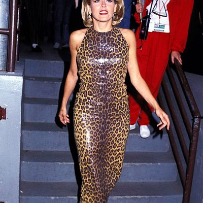 Sharon Stone has spent over two decades as a movie star, and throughout all those years she's never let go of her commitment to her bold style. Take a look at the star's must-see fashion moments, from latex to feather hair pieces, at the link in bio.
