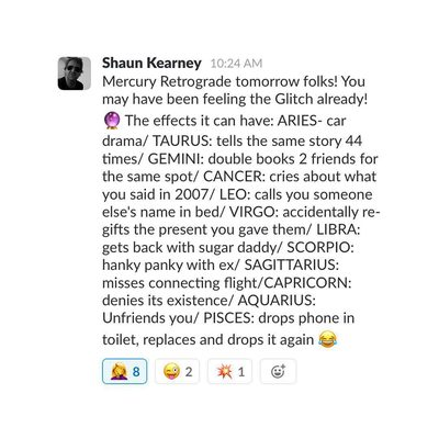 Only at @goop does your SVP of Fashion moonlight as a clairvoyant🔮 #mercuryretrograde  #areyouready?