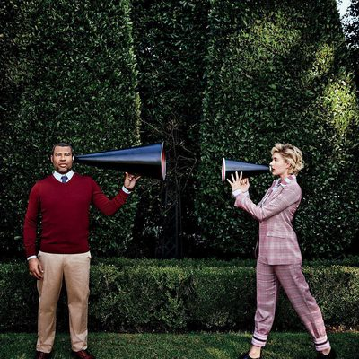 """It seems like the world is getting sick of the last 10 years of film, and they want a new perspective; they want something fresh. It just feels like it could be the beginning of a special time in Hollywood."" Revisit our story on how @JordanPeele and Greta Gerwig flipped the script at the link in bio. Photograph by @aspictures."