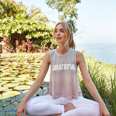 Remember when you wanted what you currently have 🙏  Link in bio to shop the Grateful Crop Tank  #grateful #raiseyourvibration #spiritualgangster