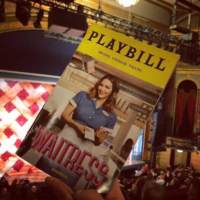 @katharinemcphee was a bombshell in her Broadway debut in @waitressmusical tonight. (📷 @rebeccaefontana)