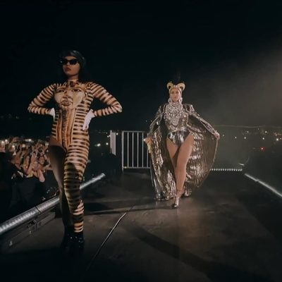 Beyonce + Coachella × BlackMilk = Life! Spotted! The queen's amazing dancers rocking modified versions of the BM King Tut Reef Suit. Want to steal their style? The reef suit is part of the Desert Queen collection dropping this Tuesday 7am AEST. . . . . . . . . . #blackmilkclothing #blackmilk #bmkingtutreefsuit #coachella #beyonce #beychella #kingtut #egyptian #queenbey #dancers #festival #dance