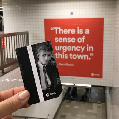 Have you gotten your Bowie MetroCard yet? Get all the info you need at the link in our bio, then head to the Broadway-Lafayette subway station! (📷@turpinjulie)