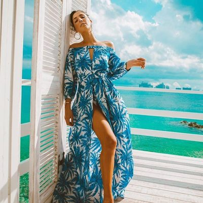 We've got the blues...but in a good way 💙#millydoesthebahamas #bahamoment #millyonthemove #blue