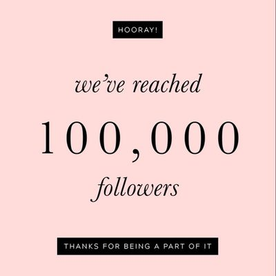 We're feeling the insta-love! We just hit 100k followers and to say thank you we're celebrating with a 48 hour sitewide FLASH SALE just for all of our Instagram followers. Just enter the code INSTA10 at checkout! #100k #finnandemma
