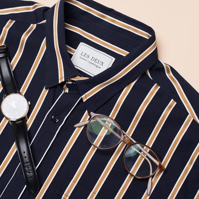 Boost your wardrobe with our  beautiful Verrier shirt.  Perfect shirt for every occasion.  #lesdeux #shortshirt
