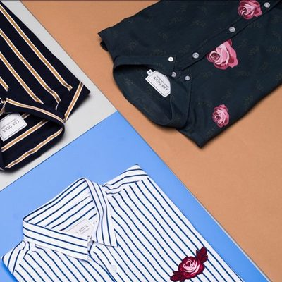 In need for a Summer shirt – well here's our take on what to buy. Stripes, flowers or both – all shirts with an individual twist.  #lesdeux
