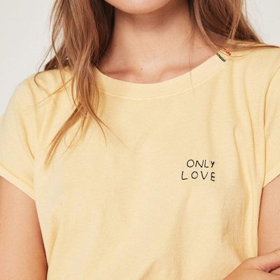 Love is not an emotion, it is your very existance - Rumi 💛💛 Link in bio to shop our latest love styles #onlylove #globalloveday #trusttheuniverse #spiritualgangster