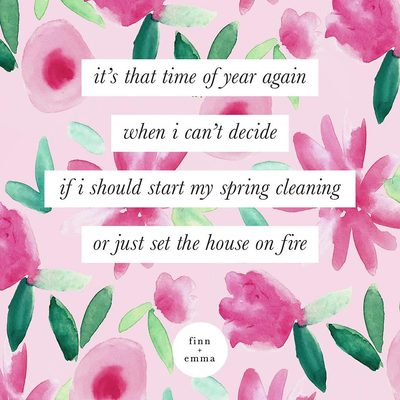 Spring is here! 🌸 who else feels the same? #finnandemma