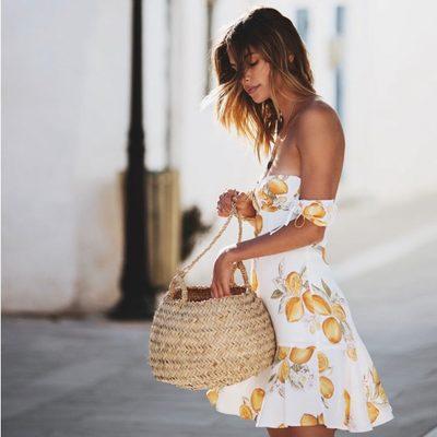 Sun seeking ensembles 🍋 The Lemonade Mini Dress, Lemonade Tie Front Tank & Short