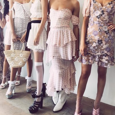 Pastel gingham, heart laces & dreamy silhouettes 🌸 This season's line up prettier than ever! Summer '18 Collection available now.