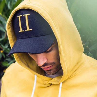 """Choose our Carterton hoodie for your next journey and see it as a versatile piece that can be incorporated into various outfits.  We recommend to style it with out iconic baseball cap, with legendary """"II"""" logo on the front. #lesdeux"""