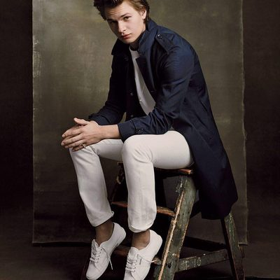 """@Ansel Elgort's five-year ballet education at @sab_nyc may be over, but the actor hasn't given up on dance. Alongside his ballerina girlfriend, Violetta Komyshan, he said, """"I love to dance. I dance every day. Even when I work out I dance. I like to dance all the time."""" Read about more highlights from @nycballet's Spring Gala at the link in bio. Photograph by @BjornIooss for V.F. June 2014."""