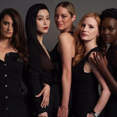 The secret's out! V.F.'s @That_Rebecca has the scoop out of #Cannes2018 on #355Movie, the female-driven James Bond–style film of your dreams. Get the details (An international set of deadly spies! A Marion Cotillard motorcycle fight scene! Lupita Nyong'o as an African intelligence agent!) at the link in bio. #Regram from @penelopecruzoficial, @bingbing_fan, @marioncotillard, @jessicachastain, and @lupitanyongo. 📷: @gregwilliamsphotography