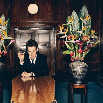 """""""It was a hell of an arc to play,"""" says Benedict Cumberbatch, star of @Showtime's #PatrickMelrose. """"Patrick's life is a nonstop madeleine cake of horrors."""" Indeed, the actor shines in his role as the drug-addled aristocrat that V.F. critic Sonia Saraiya says """"may be Cumberbatch's strongest work to date."""" Read her full review at the link in bio. Photographs by @julian_broad_studio."""