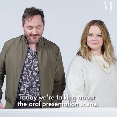 """On this episode of """"Notes on a Scene,"""" @MelissaMcCarthy and @BenjyFalcone break down the oral presentation scene in @lifeofthepartymovie. Watch the full video at the link in bio."""