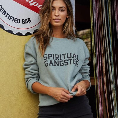 Sage yourself 🌿  Link in bio to shop our dream summer sweatshirt  #spiritualgangster #raiseyourvibration