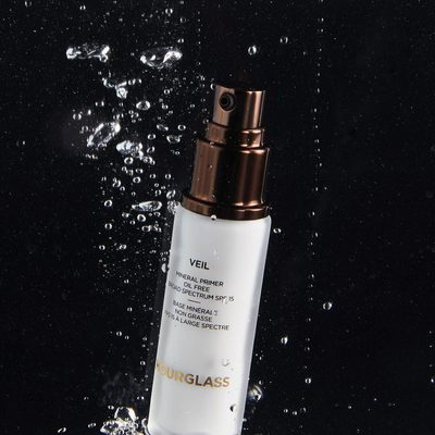 If you didn't know that our #VeilMineralPrimer makes your foundation water-resistant, now you know. The sweatproof, oil-free formula helps to prevent shine throughout the day while leaving your skin feeling and looking smooth. Tap to shop. #MagicOfVeil #vegan #crueltyfree #hourglasscosmetics