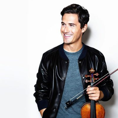 """""""Going onstage is similar to going into a cage with a tiger. There's always an element of danger. What you've done in the past doesn't necessarily work twice. It's always the unknown."""" Meet 32-year-old violin virtuoso @CharlieSiem, classical music and high-fashion It Boy, at the link in bio. Photograph by @msstudio."""