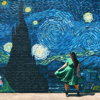 Starry nights in our Ruffle Hem Wrap Dress 🌠 #XOQ