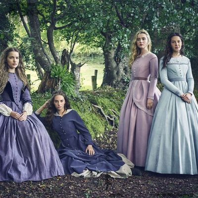 In a new two-part @MasterpiecePBS series, #LittleWomen leaps to the screen once more in its most ambitious, faithful adaptation yet. Tap the link in bio to read V.F. critic Sonia Saraiya's review and @erinleighcarlson's piece on why the cult of Jo March and Little Women endures 150 years later. 📷: @jasonbellphoto