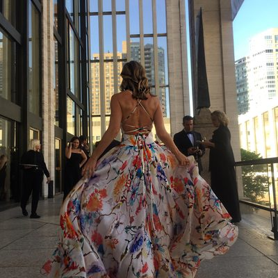 Having a magical #millymoment at @abtofficial spring gala! #fashiondesigner #newyorkcity #ballet #abt