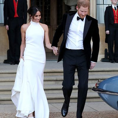 What happened after the cameras turned off? At the link in bio, step inside Harry and Meghan's wedding reception, featuring beer pong, D.J. Idris Elba, fireworks and George Clooney dancing with duchesses.