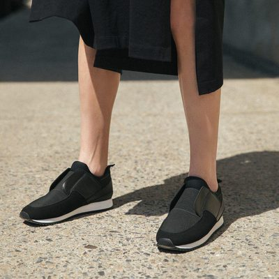GROUND CONTROL || Slip on sneakers are the answer to 87% of your commuting struggles. The TESS in BLACK. • • #linkinbio #ss18 #mattandnat #livebeautifully #materialsandnature #vegan #crueltyfree #recycled #shoes
