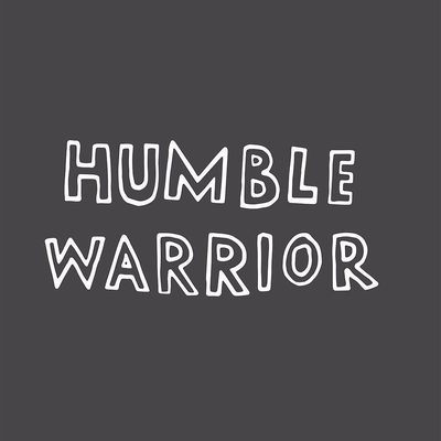 Tag a humble warrior 🙌  Link in bio to find your new background #humblewarrior #spiritualgangster