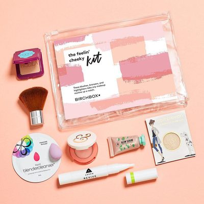 We're blushing with excitement to introduce you to our new The Feelin' Cheeky Kit—packed with blushes, bronzers, and highlighters to help you get glowing. 😊