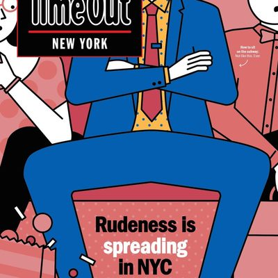 How rude are you? For the 94 etiquette rules every New Yorker must follow, see the link in our bio! (Illustration: @_nico189)